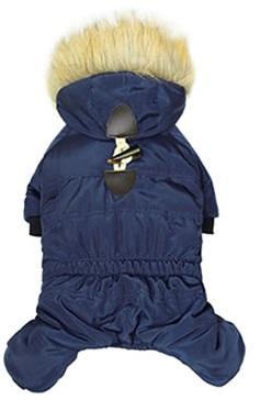 Blå vinterfodrad overall