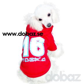 Hundtröja Sport Röd