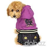Hundklänning Lila