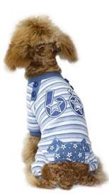 Hundoverall Star 68 Blå