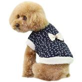 Hundjacka marinblå