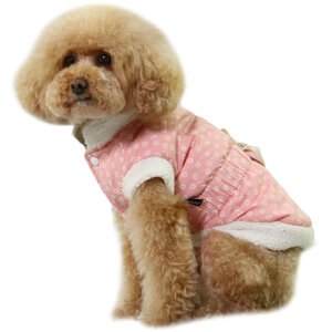 Hundjacka rosa