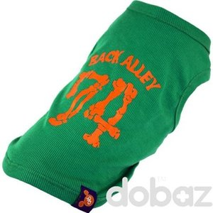 Hund t-shirt Sweet 74 grön