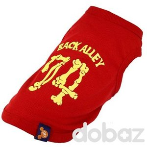 Hund t-shirt Sweet 74 röd