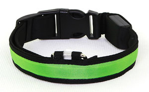 LED-halsband Grön