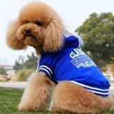 Blå Hoodie-tröja