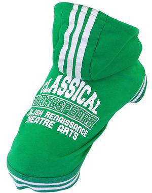 Grön Hoodie-tröja
