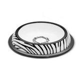 Hundmatskål Zebra