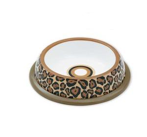 Hundmatskål Leopard